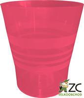 Květináč ORCHID červený d15 cm