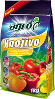 AGRO OM hn. rajčata a papriky 1 kg + ZDARMA KRISTALON pro pokojové rostliny