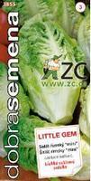 """Salát římský Little Gem """"mini srdíčka"""" 0,6 g Dobrá semena"""
