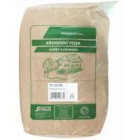 Křemenný písek pro dům a zahradu 0,3-0,8 mm 25 kg