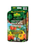 FLORIA Substrát na rajčata a papriky 40 l - NOVINKA