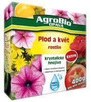 AgroBio Krystalické hnojivo Extra Plod a květ 400 g
