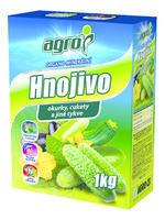 AGRO OM hn. okurky a cukety 1 kg - NOVINKA + ZDARMA KRISTALON pro pokojové rostliny