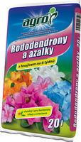 AGRO Substrát pro rododendrony a azalky 20 l + ZDARMA KRISTALON - doprodej