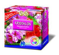 AGRO KRISTALON Balkónové květiny 20 x 10 g + ZDARMA KRISTALON pro pokojové rostliny
