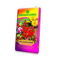 PRIMAFLORA Substrát pro muškáty pelargonie a jiné balkonové 20 l