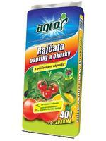 AGRO Substrát na rajčata a papriky a okurky 45 l