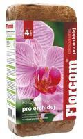FLORCOM Kokosový substrát pro orchideje 350 g