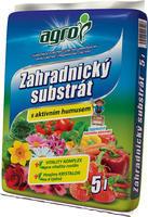 AGRO Zahradnický substrát 5 l + ZDARMA KRISTALON pro pokojové rostliny, 5 l