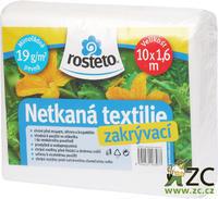 Neotex ROSTETO - bílá netkaná textilie 19g šíře 10 x 1,6 m