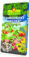 FLORIA Zahradnický substrát s mykorhizou 50 l  + ZDARMA KRISTALON pro pokojové rostliny