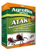 AgroBio ATAK Sada proti klíštatum a komárum 100ml+100ml
