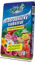 AGRO Zahradnický substrát 20 l + ZDARMA KRISTALON pro pokojové rostliny