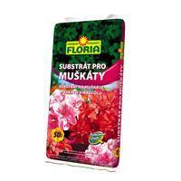 FLORIA Substrát pro muškáty 50 l + ZDARMA KRISTALON pro pokojové rostliny