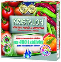 AGRO KRISTALON Zdravé rajče a paprika 0,5 kg + ZDARMA KRISTALON pro pokojové rostliny