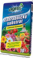 AGRO Zahradnický substrát 10 l + ZDARMA KRISTALON pro pokojové rostliny