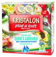 AGRO KRISTALON Plod a květ 0,5 kg + ZDARMA KRISTALON pro pokojové rostliny