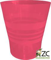 Květináč ORCHID červený d13 cm