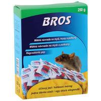 BROS měkká návnada na myši, krysy a potkany 250 g