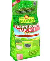 FLORIA Trávníková náplast 3 v 1 - 1 kg + ZDARMA KRISTALON pro pokojové rostliny