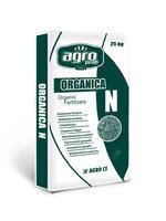 ORGANICA N 25kg  hnojivo s obsahem organických a stopový látek ( Fe, Mn, B, Mo, Zn, Cu)