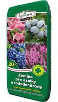 Rašelina Soběslav Substrát Azalky a rododendrony 20 l doprodej