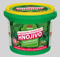 Forestina Hnojivo pro jehličnany a jiné okrasné dřeviny - kyblík 5 kg