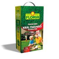 FLORIA TRAVNÍ SMĚS Král trávníků 2kg+zeolit 800 g příbal  + ZDARMA KRISTALON pro pokojovky
