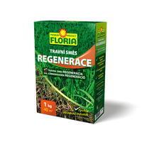 FLORIA TRAVNÍ SMĚS REGENERACE - krabička 1 kg + ZDARMA KRISTALON pro pokojové rostliny