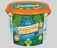 FORESTINA Podzimní hnojivo pro jehličnany - kyblík 5 kg