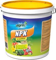 AGRO NPK plast. kbelík 10 kg + ZDARMA KRISTALON pro pokojové rostliny