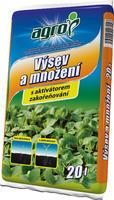 AGRO Substrát pro výsev a množení 20 l+ ZDARMA KRISTALON pro pokojové rostliny