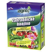 AGRO Zahradnické hnojivo 2,5 kg + ZDARMA KRISTALON pro pokojové rostliny