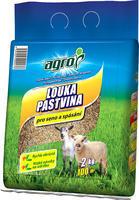 AGRO TRAVNÍ SMĚS Louka a pastvina - taška 2 kg  + ZDARMA KRISTALON pro pokojové rostliny