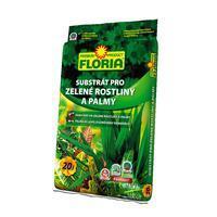 FLORIA Substrát pro zelené rostliny a palmy 20 l