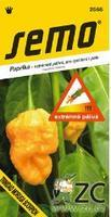 Chilli semínka TRINIDAD MORUGA SCORPION YELLOW 10ks extrémně pálivá
