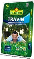 Agro Floria Travin trávníkové hnojivo 20 kg + ZDARMA KRISTALON pro pokojové rostliny