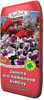 Zemina pro balkonové květiny 40 l