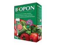 BIOPON hnojivo na rajčata, okurky a zeleninu 1 kg+ELIXÍR DUO ZDARMA