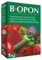 BOPON hnojivo na rajčata, okurky a zeleninu 1 kg