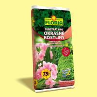 FLORIA Substrát pro okrasné rostliny 75 l + ZDARMA KRISTALON pro pokojové rostliny