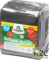 Neotex ROSTETO - černá netkaná textilie 50g šíře 10 x 3,2 m