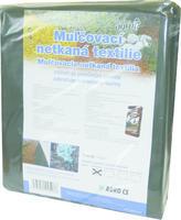 AGRO 1,6 x 5 m Mulčovací netkaná textilie černá + ZDARMA KRISTALON pro pokojové rostliny