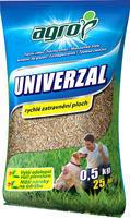 AGRO TRAVNÍ SMĚS UNIVERZÁL 0,5 kg + ZDARMA KRISTALON pro pokojové rostliny