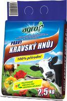AGRO Pravý kravský hnůj 2,5 kg  + ZDARMA KRISTALON pro pokojové rostliny