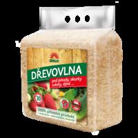 FORESTINA Dřevovlna - podklad jahod, okurek, cuket apod. ochrana proti plísním a škůdcům
