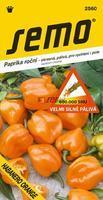 Chilli semínka HABANERO ORANGE 15ks velmi silně pálivá SHU 600000