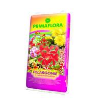 PRIMAFLORA Substrát pro pelargonie 10 l + ZDARMA KRISTALON pro pokojové rostliny