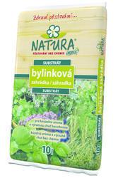 AGRO NATURA Substrát bylinková zahrádka 10l  + ZDARMA KRISTALON pro pokojové rostliny