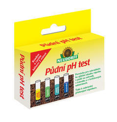 Neudorff  pH půdní test